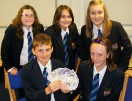 School charity champs win national acclaim