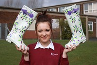 Winning wellies fit for Glastonbury